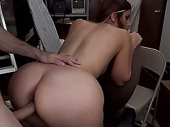 Big ass nymph Rachel Rayye has wild banging with hugecocked handsome fellow. The sinful cutie is going to suck penis like a candy before getting it so deep into cunt.