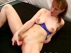 Wicked horny busty MILF redhead part4